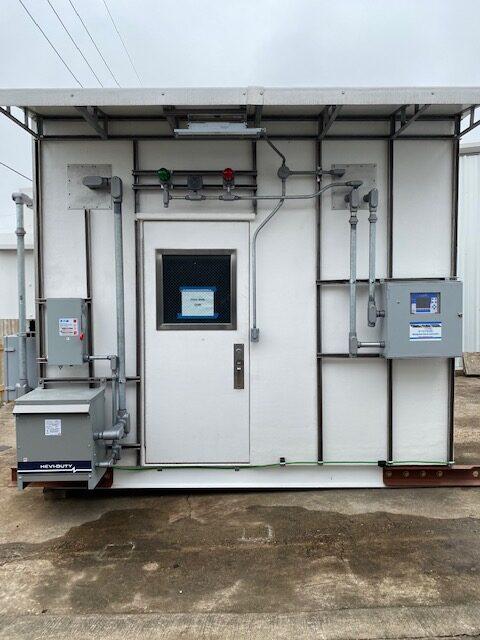 Wastewater TOC Analyzer Shelter #0093